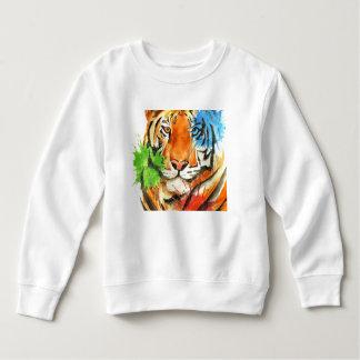 Moletom Splatter do tigre
