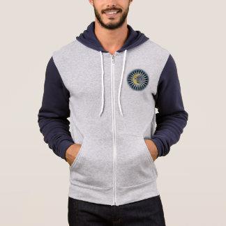 Moletom Sun enfrenta o hoodie zippered