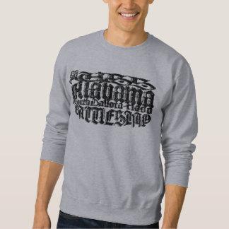 Moletom T-shirt básico da camisola dos homens de Alabama
