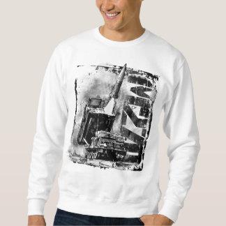 Moletom T-shirt básico da camisola dos homens do MLRS M270