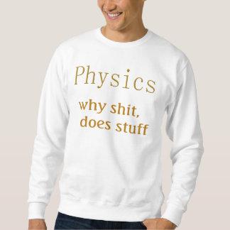 Moletom t-shirt da física