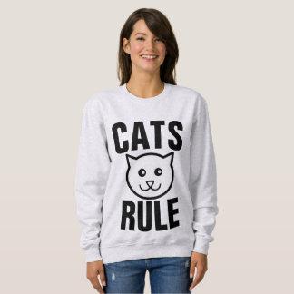 Moletom T-shirt da REGRA, do CAT dos GATOS & camisolas