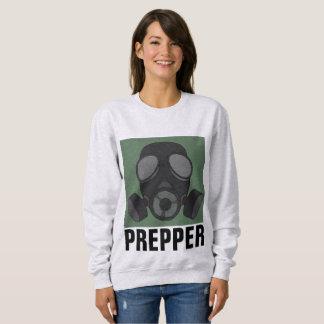 Moletom T-shirt de PREPPER, MÁSCARA de GÁS
