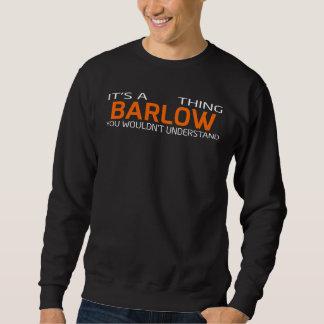 Moletom T-shirt engraçado do estilo do vintage para BARLOW