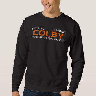 Moletom T-shirt engraçado do estilo do vintage para COLBY