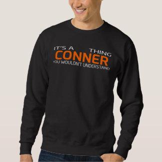 Moletom T-shirt engraçado do estilo do vintage para CONNER