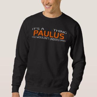Moletom T-shirt engraçado do estilo do vintage para PAULUS