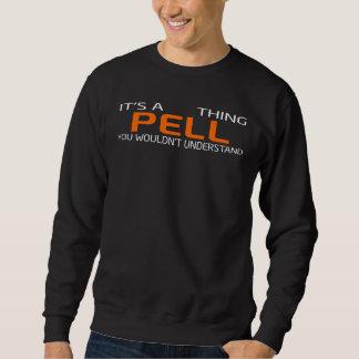 Moletom T-shirt engraçado do estilo do vintage para PELL