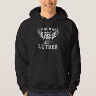 Moletom T-shirt engraçado do vintage para LUTHER
