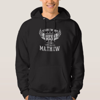 Moletom T-shirt engraçado do vintage para MATHEW