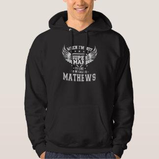Moletom T-shirt engraçado do vintage para MATHEWS