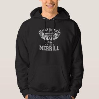Moletom T-shirt engraçado do vintage para MERRILL