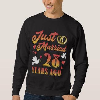 Moletom T-shirt impressionante para o 28o aniversário