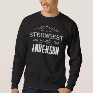 Moletom T-shirt legal para ANDERSON