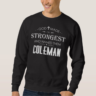 Moletom T-shirt legal para COLEMAN