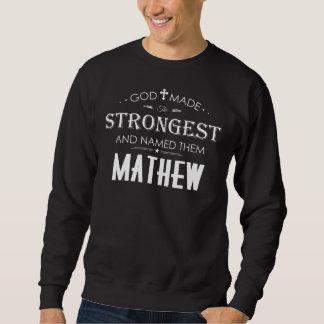 Moletom T-shirt legal para MATHEW