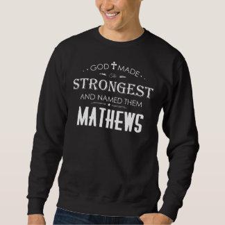 Moletom T-shirt legal para MATHEWS
