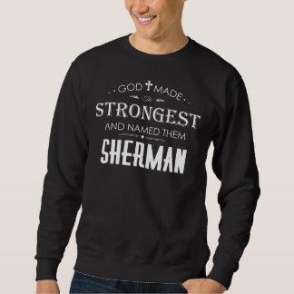 Moletom T-shirt legal para SHERMAN