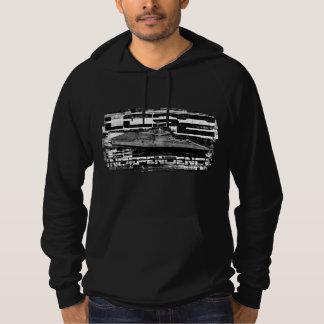 Moletom T-shirt litoral da independência do navio de