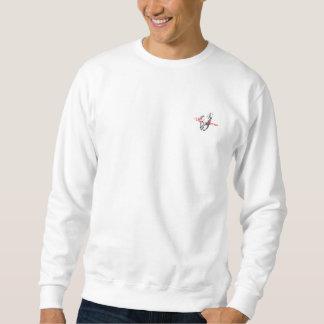 Moletom T-shirt longo da luva dos cavalos selvagens para