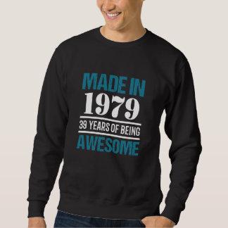 Moletom T-shirt para o 39th aniversário. Presente por 39
