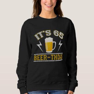 Moletom T-shirt surpreendente da cerveja por 65 anos velho