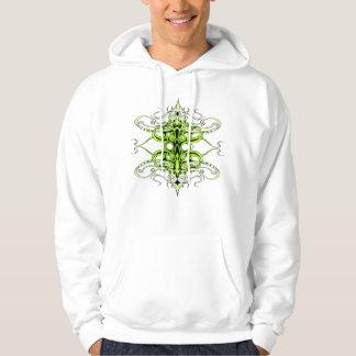 Moletom Tatuagem tribal do império - verde