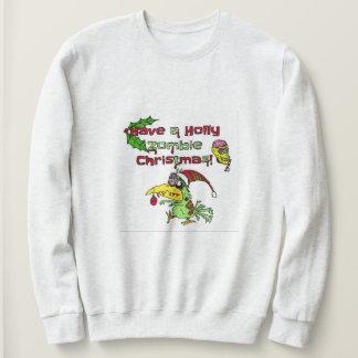 Moletom Tenha uma camisola do Natal do zombi do azevinho