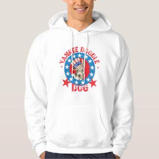 Moletom Terrier calvo americano patriótico