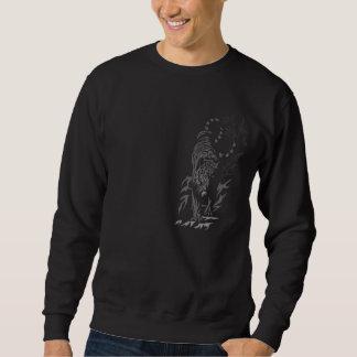 Moletom Tigre no t-shirt do preto do Prowl (horizontal)