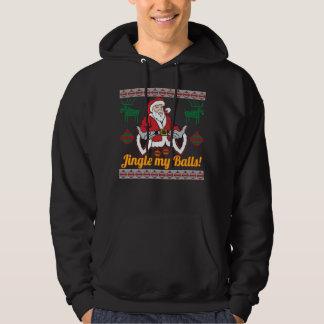 Moletom Tinir minha camisola feia do Natal de Papai Noel