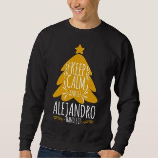 Moletom Tshirt do presente para ALEJANDRO