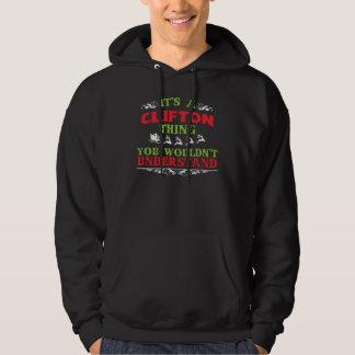 Moletom Tshirt do presente para CLIFTON