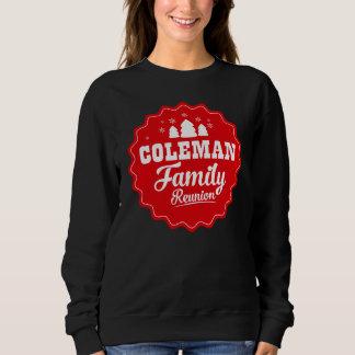 Moletom Tshirt do vintage para COLEMAN