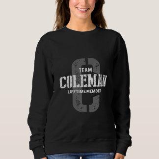 Moletom TShirt engraçado do estilo do vintage para COLEMAN