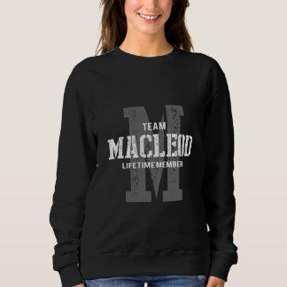 Moletom TShirt engraçado do estilo do vintage para MACLEOD