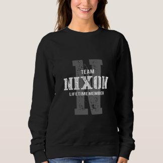Moletom TShirt engraçado do estilo do vintage para NIXON