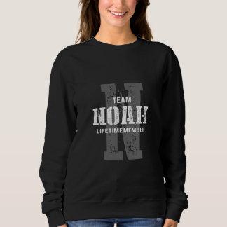 Moletom TShirt engraçado do estilo do vintage para NOAH