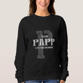 Moletom TShirt engraçado do estilo do vintage para PAPP