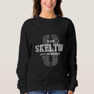 Moletom TShirt engraçado do estilo do vintage para SKELTON