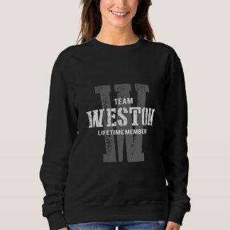 Moletom TShirt engraçado do estilo do vintage para WESTON
