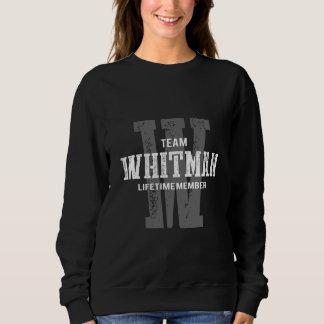 Moletom TShirt engraçado do estilo do vintage para WHITMAN