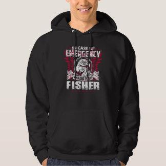 Moletom TShirt engraçado do vintage para FISHER