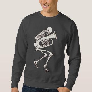 Moletom Tuba que joga o esqueleto