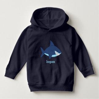 Moletom Tubarão azul do divertimento