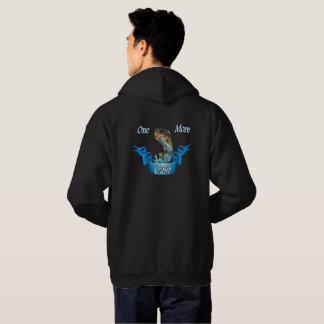Moletom Um mais moldado pescando o hoodie