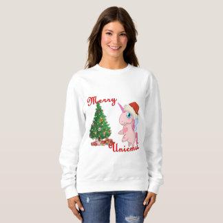 Moletom Unicmas alegre (Feliz Natal através da maneira do
