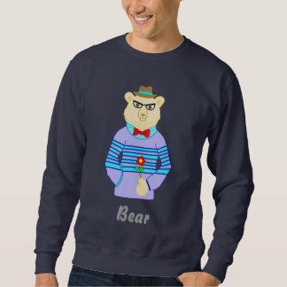 Moletom urso do geek