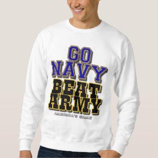 Moletom Vai o exército da batida do marinho - o jogo de