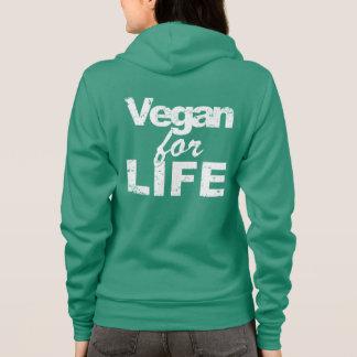 Moletom Vegan para a VIDA (branca)